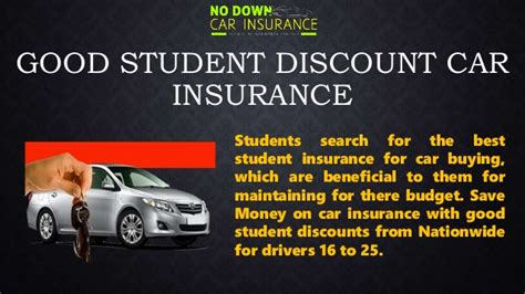 good discount  student auto insurance  student car