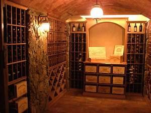 Traditional Wine Cellar - Rustic - Wine Cellar - boston