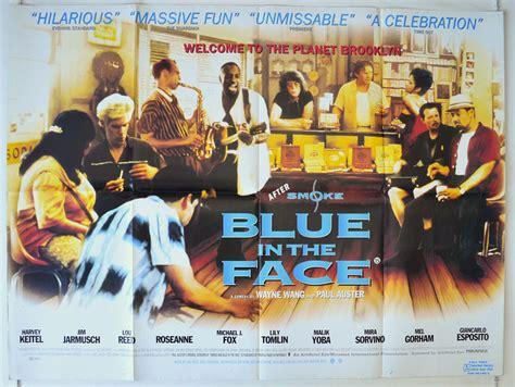 blue   face original cinema  poster  pastposterscom british quad posters