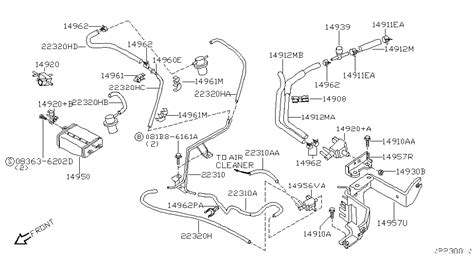 nissan xterra engine diagram fuel system