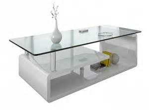 deco table basse en verre table basse