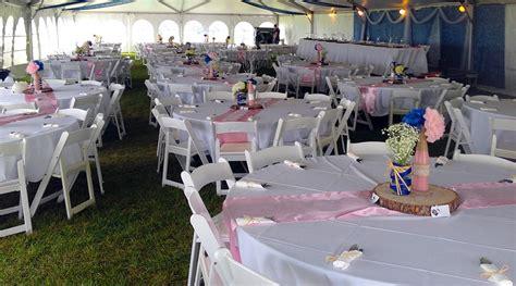 event table and chair rental iowa city cedar rapids