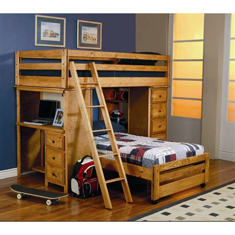 childrens bunk beds with desk bunk bed with desk for your kids homesfeed