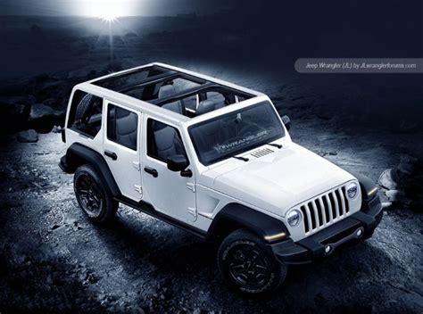 Jeep Wrangler Redesign 2018 by 2018 Jeep Wrangler Redesign Release Date Diesel