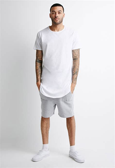 #MenswearWednesday Indulge In the Long Line T-shirt Trend For Men! - Online Entertainment and ...
