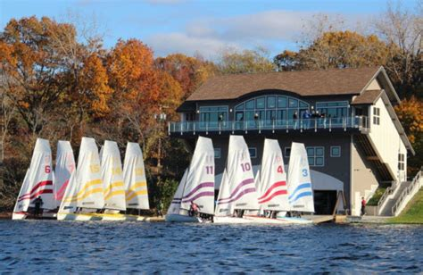 tufts university launches  sailing center