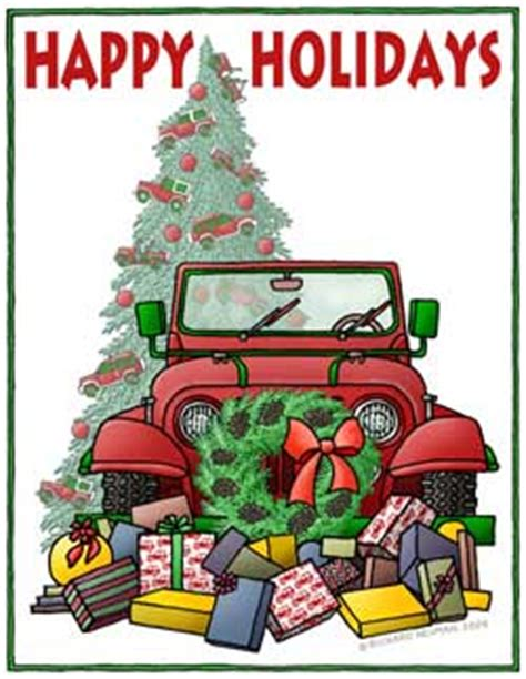 christmas tree jeep merry christmas off road forums discussion groups