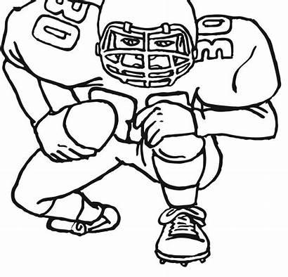 Coloring College Football Pages Raiders Printable Groundhog