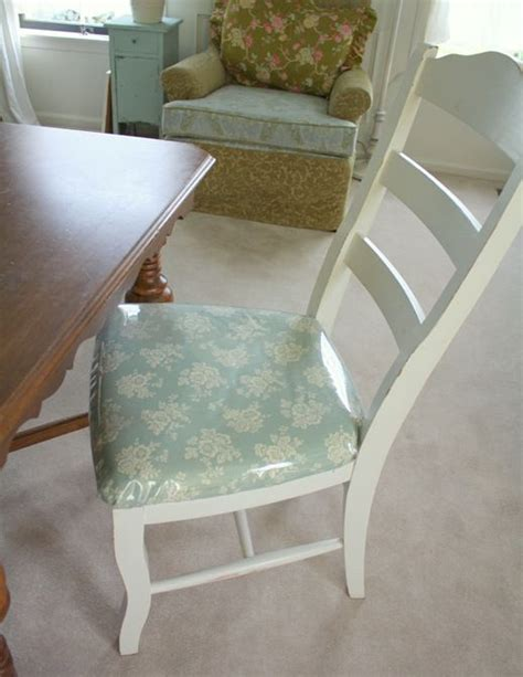 Fabric Covered, Chairs And Love On Pinterest
