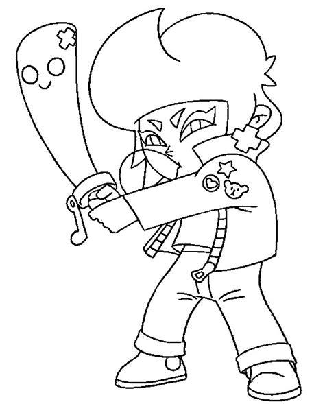 disegni di brawl da colorare bibi disegni da colorare brawl bibi