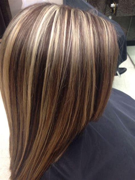 images  blonde highlights  dark hair