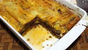 receta de pastel de plátano delicioso y fácil de hacer