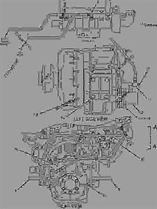 1732058 Wiring Group-engine - Engine - Marine Caterpillar 3126b