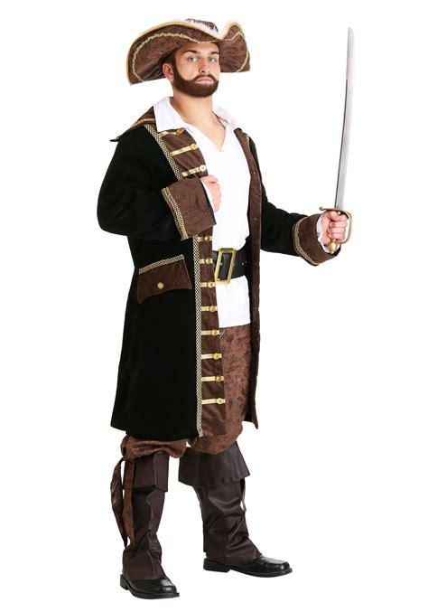Realistic Pirate Costume - Brown