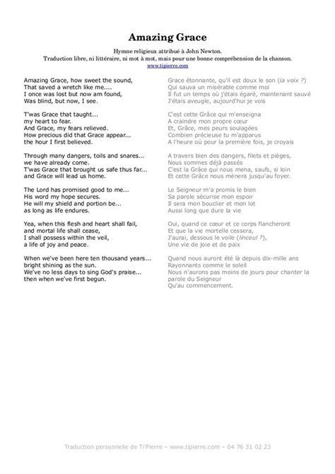 si e social traduction anglais paroles de chansons amazing grace traduction en