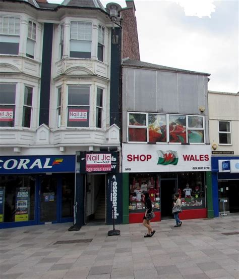 shop wales in cardiff city centre 169 jaggery geograph