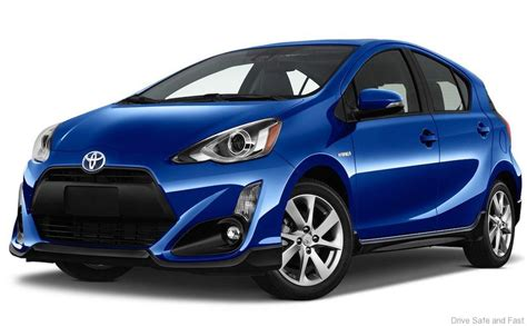 Toyota Prius C Updated For 2017 Model Year In Us