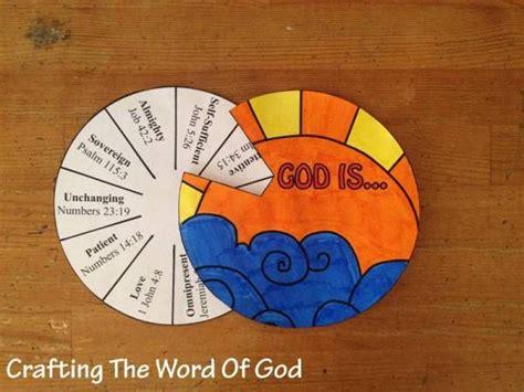 god  craft  template bible crafts  kids