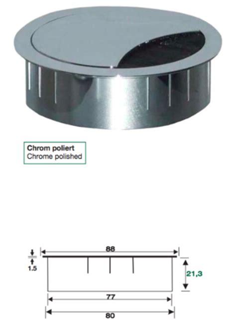 metall kabeldose rund kabeldose weiss kabeldose chrom