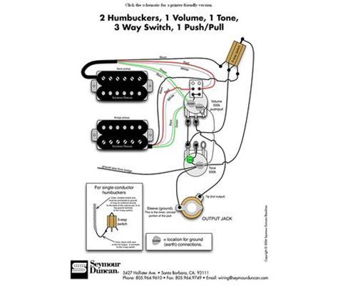 Seymourduncan Support Wiring Diagrams Awhile Circuit