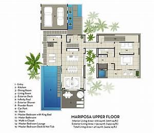 Moderne Design Villa : contemporary mariposa villa with stunning ocean views villa plans and designs bali design ~ Sanjose-hotels-ca.com Haus und Dekorationen
