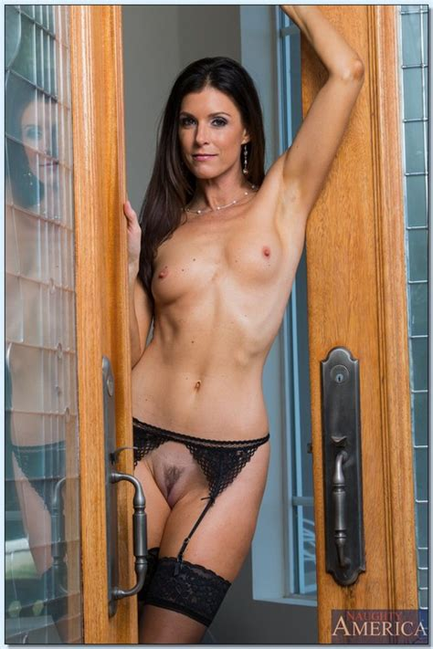 Stunning And Beautiful Brunette Woman In Stockings Photos India Summer Milf Fox