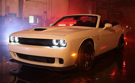 How Much Does A Dodge Hellcat Cost by World S Dodge Challenger Hellcat Convertible Costs