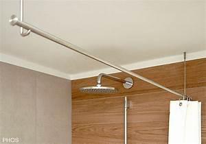 Stange Für Duschvorhang Ohne Bohren : duschvorhangstange aus edelstahl cns f r badewanne dusche ~ A.2002-acura-tl-radio.info Haus und Dekorationen