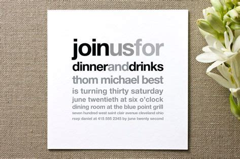 invitation graphic design dinner party invitations