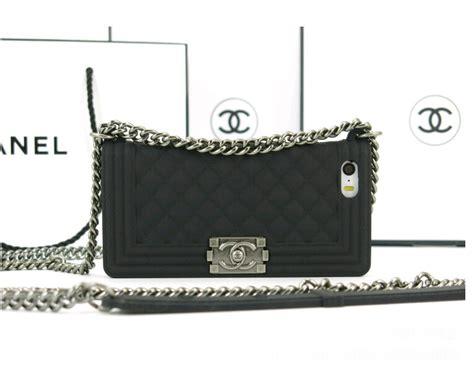 chanel iphone 5s case black chanel boy chain bag phone case for iphone 4s iphone Chane