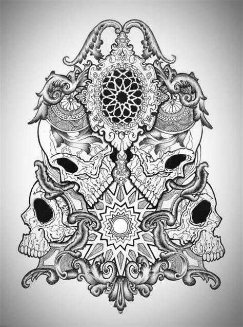 Skulls on Behance | tattoos | Tattoo design drawings, Tattoo designs, Best tattoo designs