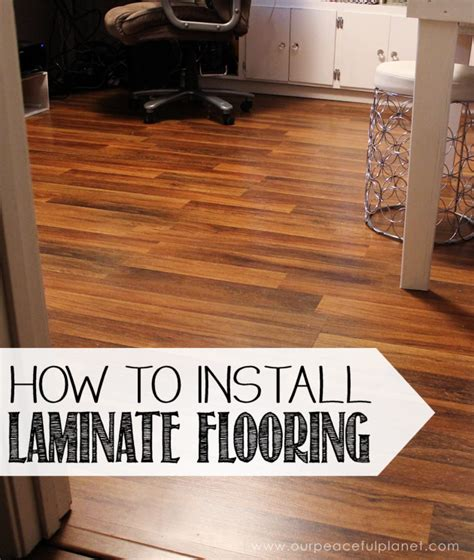 how to fit a laminate floor how to install laminate flooring