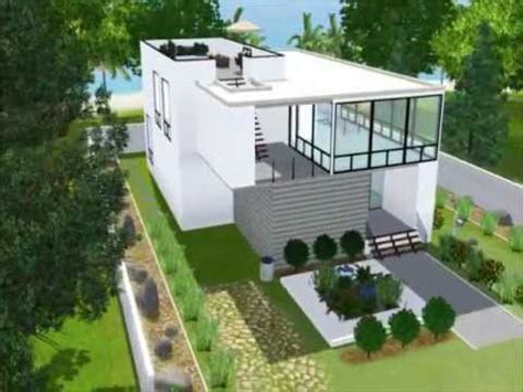 The Sims 3  Modernes Haus Youtube