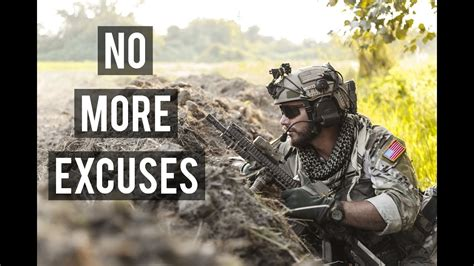 excuses military motivation youtube