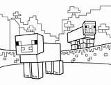 Minecraft Coloring Sheets Printable Sheep Pdf Wither Kleurplaat Cool Colorier Printables Coloriage Dibujos Lesson Dessin Enfants Herobrine Animals Outline Colorear sketch template