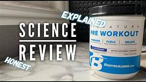 Bodybuilding Com Signature Pre Workout Review - Science Explained - Joseph Williams