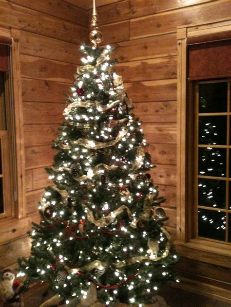 log cabin primitive christmas tree christmas pinterest