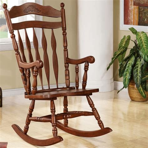madrone country style rocking chair free