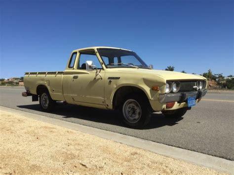 1977 Datsun Truck by 1977 Datsun 620 All Original 32k California