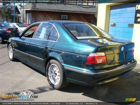 Bmw 528i 1999 by 1999 Bmw 5 Series 528i Sedan Oxford Green Metallic Sand