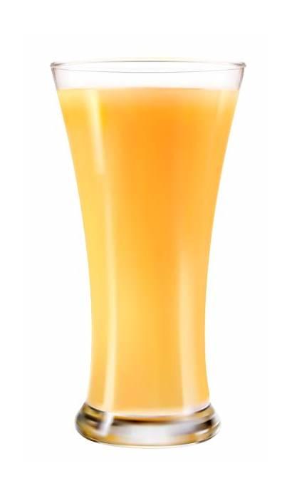 Juice Glass Orange Clipart Transparent Vector Fresh