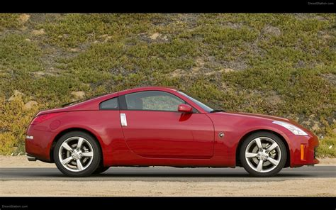 nissan coupe 350z nissan 350z coupe 2008 widescreen exotic car wallpapers