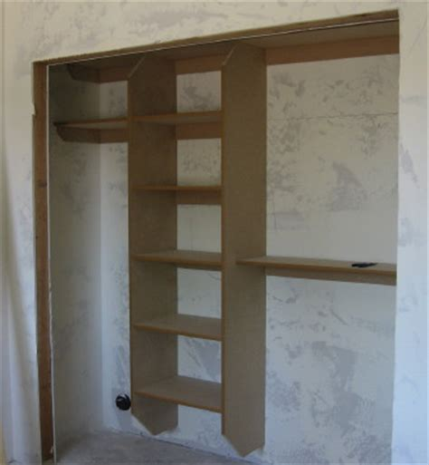 easy custom closets and pantry are being installed
