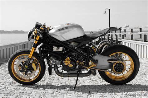 Ducati Elite Ii Café Racer By Moto Puro