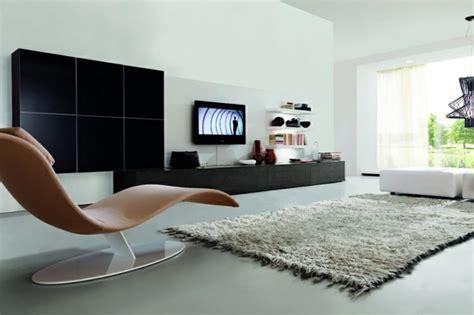 salon sans canapé un design italien pour un séjour contemporain élégant
