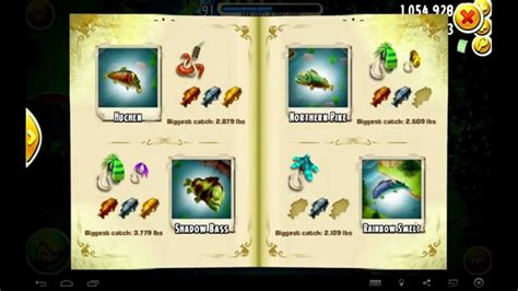 hay day completed fishing book youtube