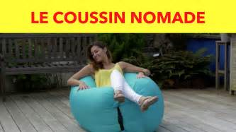 Gifi Fauteuil Gonflable by Les Coussins Nomades Achat Malin Gifi Youtube