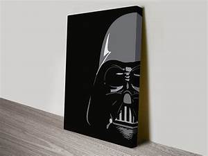 Darth Vader Pop Art - Canvas Prints Australia