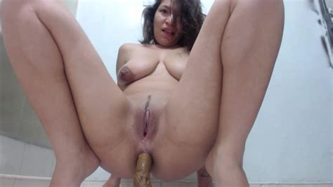 Amateur Latino Milf With Saggy Tits Pooping On Cam