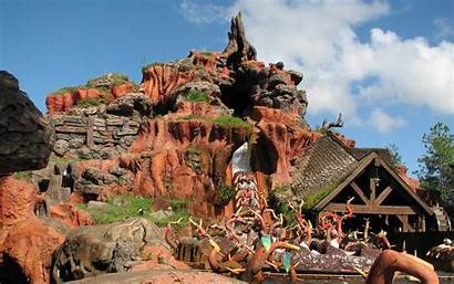 Disney Walt Splash Mountain Rides Magic Kingdom